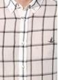 Beymen Club Kareli Uzun Kollu Gömlek Beyaz